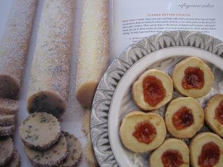 Icebox Butter Cookies w Jam