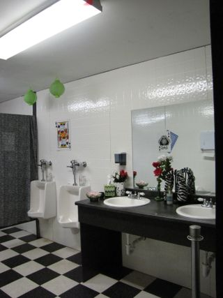 Setup - Men's Room
